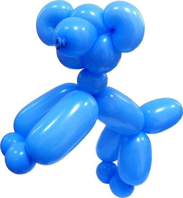 Собачка из воздушных шариков